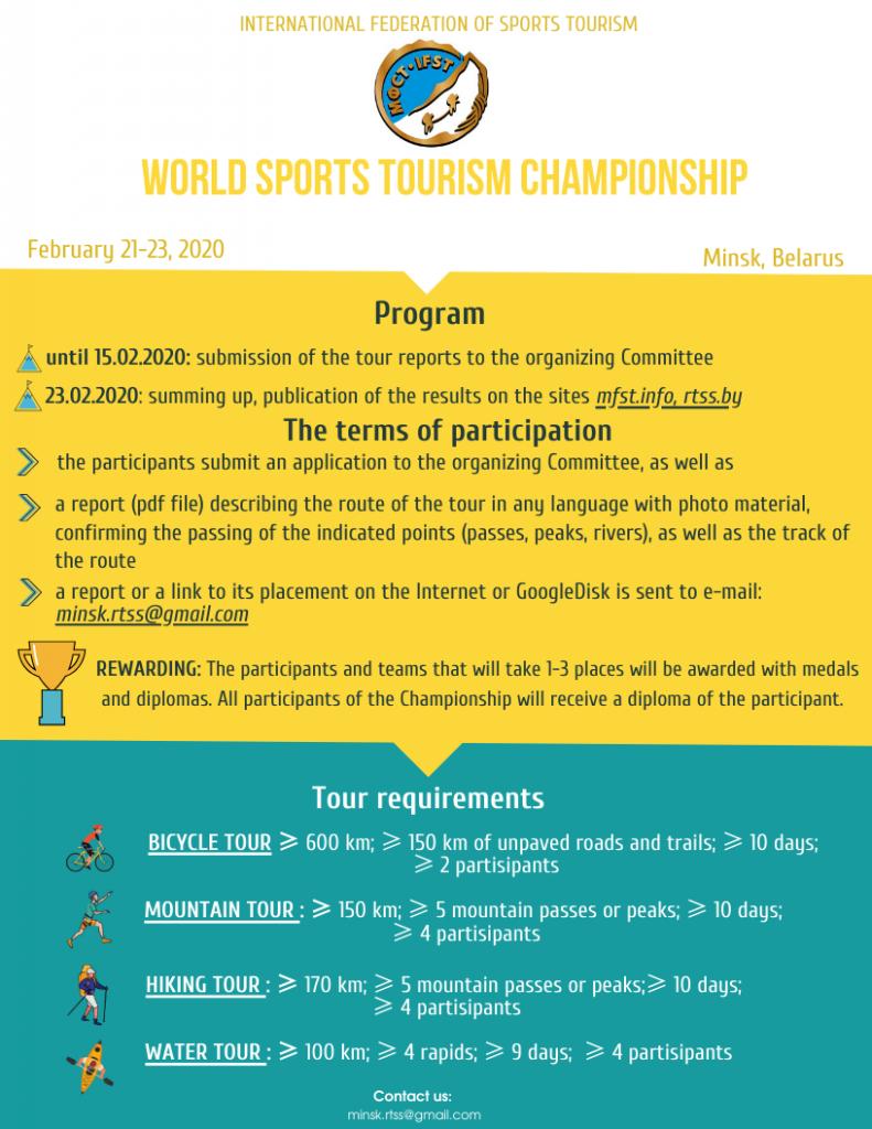 World championship 2020 afisha